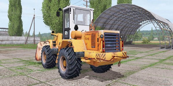 Мод погрузчик Амкодор 333A для Farming Simulator 2017