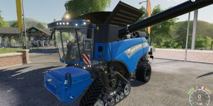 Мод комбайн New Holland CR1090 Combine V1.0 для Farming Simulator 2019
