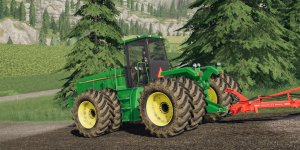 Мод трактор John Deere 8970 для Farming Simulator 2019