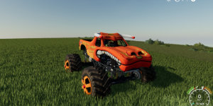 Мод монстр трак El Toro Loco для Farming Simulator 2019