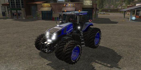 Мод трактор New Holland T8 Ultra v1.0.2 Final для Farming Simulator 2017