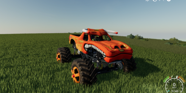 Мод автомобиль монстр трак El Toro Loco для Farming Simulator 2019