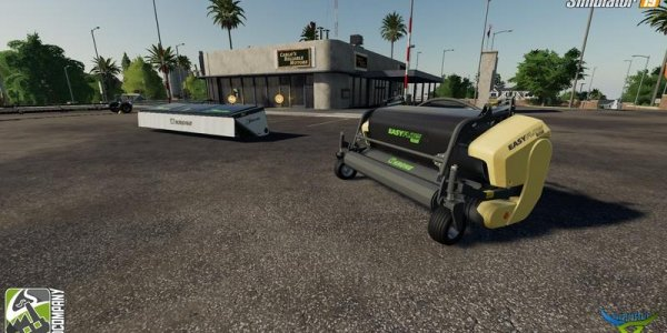 Мод пакет модов Krone Ernter Mod Pack v2.0 для Farming Simulator 19