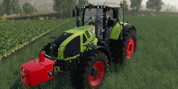 Мод трактор CLAAS Axion 900 v1.1 для Farming Simulator 2019