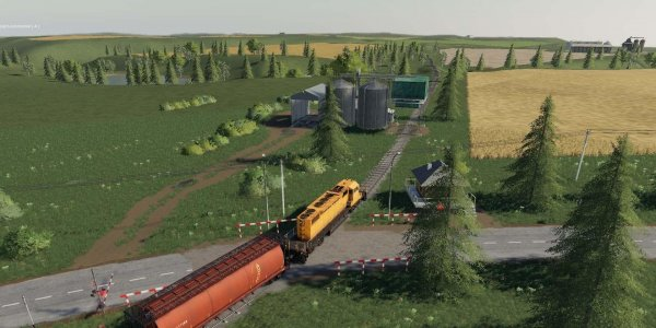 Карта Yagodnoe Map v2.2.0 для Farming Simulator 2019