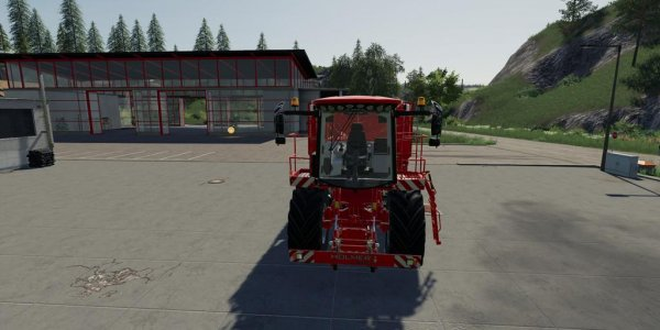 Мод комбайн Terra Dos T4-30 v1.0 для Farming Simulator 2019