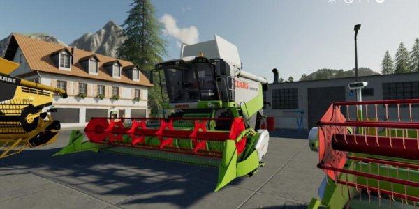 Мод пакет CLAAS для Farming Simulator 19