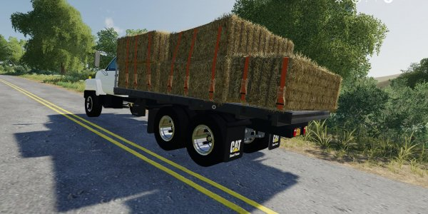 Мод грузовик GMC Flatbed v1.0  для Farming Simulator 2019