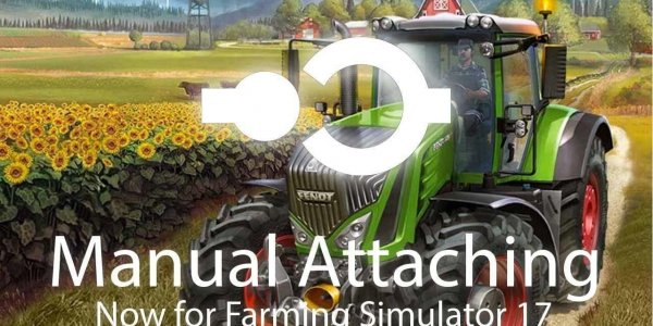 Скрипт Manual Attaching v 1.3 для Farming Simulator 2017