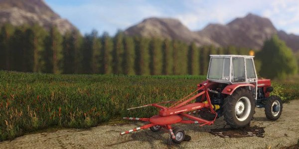 Ворошилка POETTINGER 300  для Farming Simulator 2017