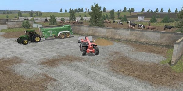Карта MIRAPOLLE V 1.0 для Farming Simulator 2017