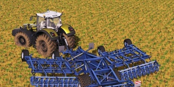 Мод культиватор KOCKERLING ALLROUNDER PF750 V1.1.0.0 для Farming Simulator 2017