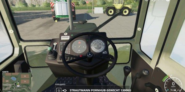 Мод погрузчик MB-TRACK 700-900ER SERIE (BETA) для Farming Simulator 2019