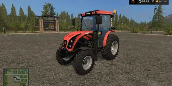 Мод трактор URSUS 5044 для Farming Simulator 2017