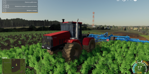 Мод трактор К-744Р для Farming Simulator 2019