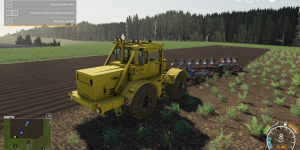 Мод трактор К-700 для Farming Simulator 2019