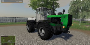 Мод трактор ХТЗ-150 для Farming Simulator 2019