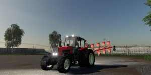 Мод трактор МТЗ-1221 v 1.1 для Farming Simulator 19