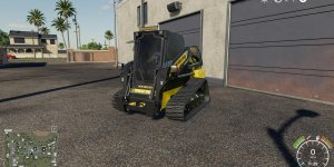 Мод погрузчик New Holland C232 v1.0 для Farming Simulator 19