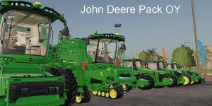 Пакет John Deere Pack OY MP v19.5 для Farming Simulator 2019
