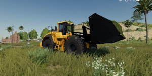 Погрузчик Volvo L220H with bucket v1.0 для Farming Simulator 2019