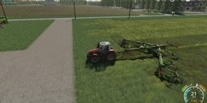 Ворошилка Krone Swadro 2000 V2.0 для Farming Simulator 19