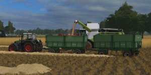 Мод прицеп Krone Emsland v1.0.0.0 для Farming Simulator 2017