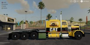 Мод тягач CATERPILLAR HEAVY HAUL v0.9 для Farming Simulator 2019