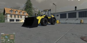 Погрузчик New Holland W190D MultiColor v1.0 для Farming Simulator 2019