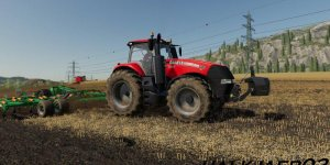 Мод трактор Case IH Magnum v1.0 для Farming Simulator 2019