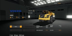 Мод самосвал Volvo A40 v1.0 для Farming Simulator 2019