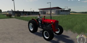 Мод трактор IMT 533 v1.0 для Farming Simulator 2019
