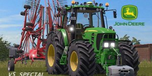 Мод трактор John Deere 7530 v1.0 для Farming Simulator 2019