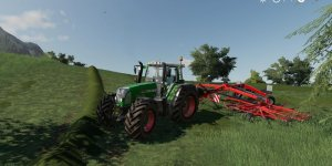 Мод трактор Fendt 818 TMS v 1.0 для Farming Simulator 2019