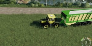 Мод трактор MB Trac 1800 Intercooler v1.2b для Farming Simulator 2019