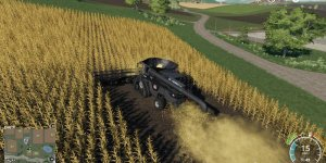 Мод комбайн IDEAL XL v1.5.0 для Farming Simulator 2019