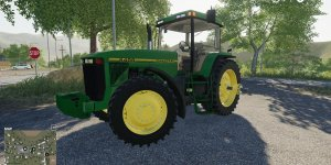 Мод трактор John Deere 8400 v 1.1 для Farming Simulator 2019