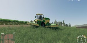 Мод косилка Big M 450 RS v1.0 для Farming Simulator 2019