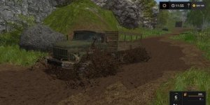 Мод грузовик ZIL 131 BOARD V1.0 Farming Simulator 17