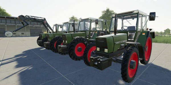 Мод  Fendt 307 - 309 для Farming Simulator 2019